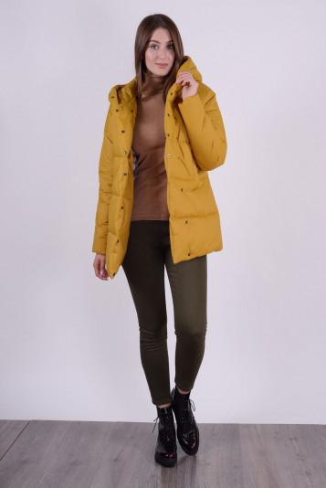 Куртка зимняя 93578 охра