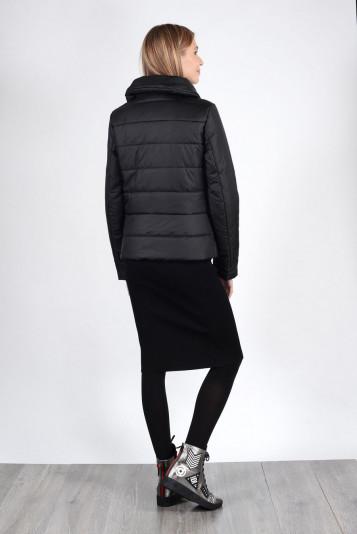 Модная курточка женская 93522 черная