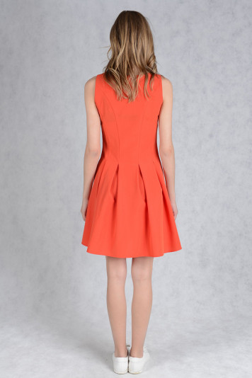 Платье 7131.1 коралл