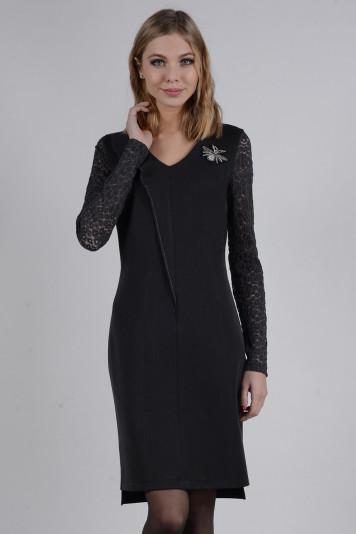Платье 8108 черное