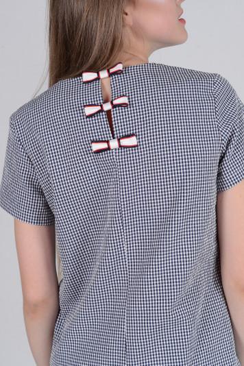 Блуза 8308.1 клетка
