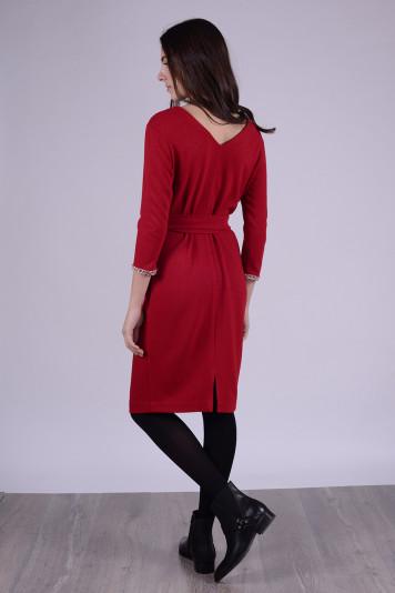Платье 9108 красное