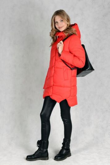 Куртка зимняя 83521 красная