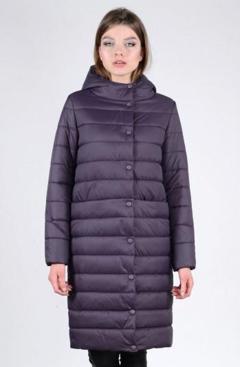 Пальто зимнее 93570 черника