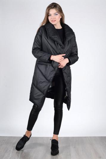 Пальто зимнее 93571 черное