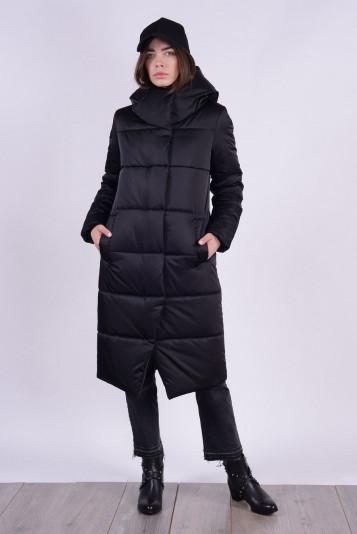 Пальто зимнее 99631 черное