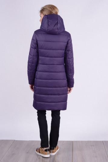 Пальто зимнее 93574 черника