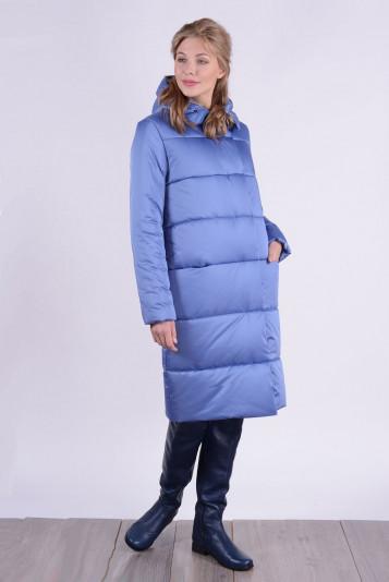 Пальто зимнее 93579 джинс
