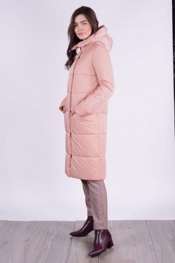 Пальто зимнее 93579 пудра
