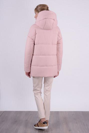 Куртка зимняя 93578 жемчужная