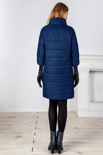 Пальто деми 99605 синий