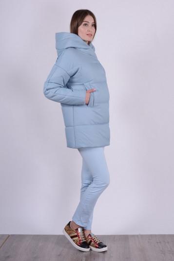 Куртка женская 93578 сизая - 1