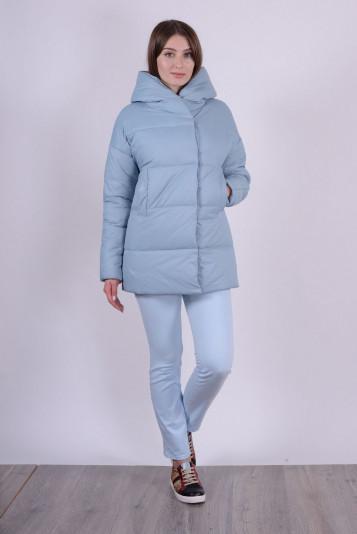 Куртка женская 93578 сизая - 2