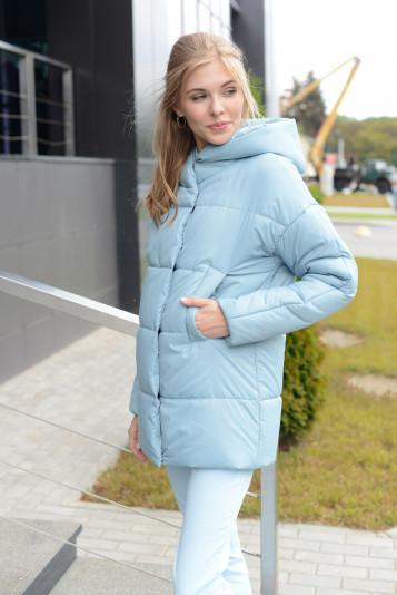 Куртка женская 93578 сизая