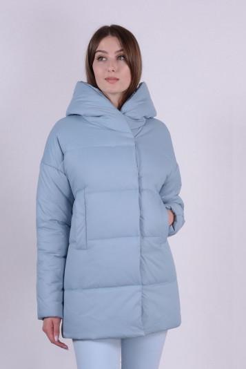 Куртка женская 93578 сизая - 3