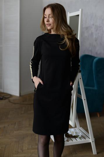 Платье 0103 черное