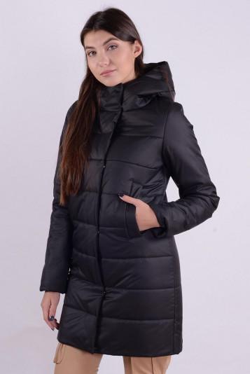 Пальто деми 99590 черное