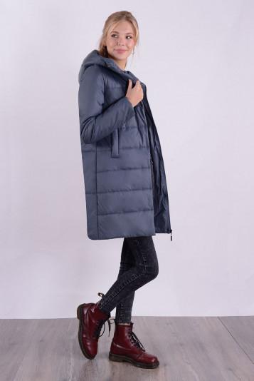 Пальто деми 99590 маренго