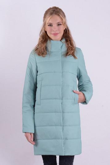 Пальто деми 99590 васаби