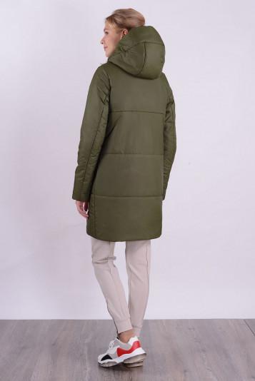 Пальто деми 99590 защитный