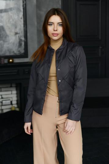 Куртка деми 99593 антрацит