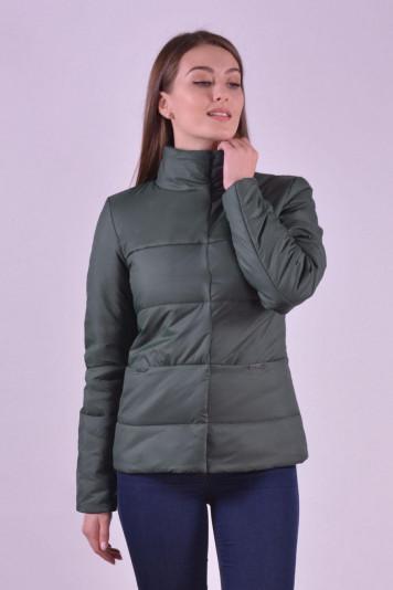Куртка деми 99606 зеленая