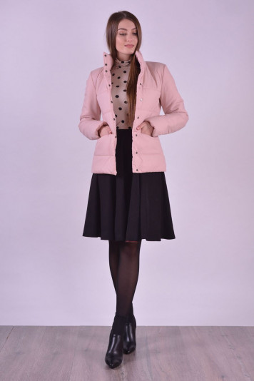 Куртка деми 99606 жемчужная