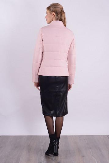 Куртка женская 99584 жемчужный