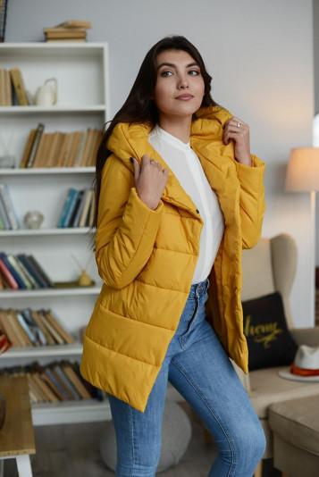Куртка деми 99585 охра