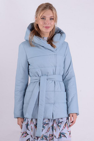 Куртка деми 99585 сизая