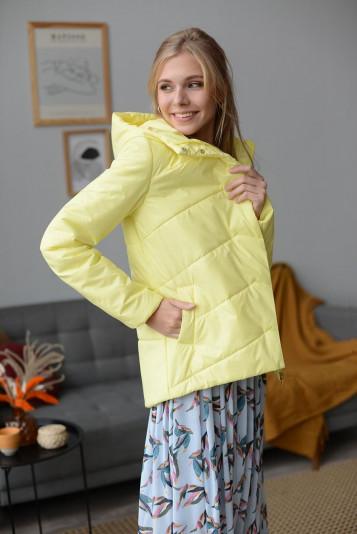 Куртка деми 99586 желтая