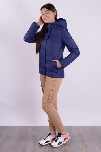 Куртка деми 99586 синяя