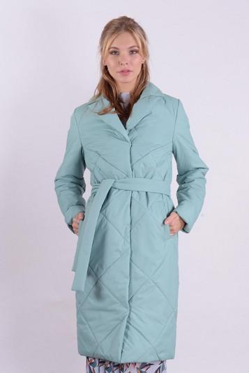 Пальто деми 99587 васаби