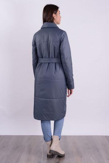 Пальто деми 99587 маренго