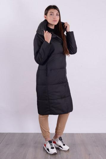 Пальто деми 99598 черное