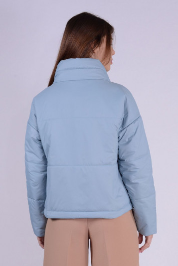 Куртка деми 99601 сизая