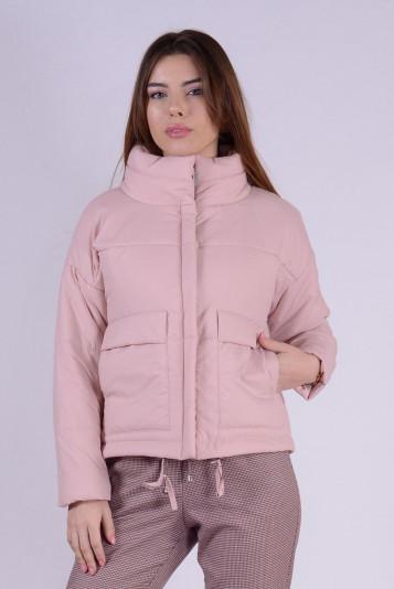 Куртка деми 99601 жемчужная