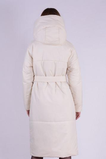 Пальто деми 99602 молоко