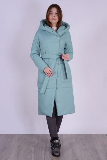 Пальто деми 99602 васаби