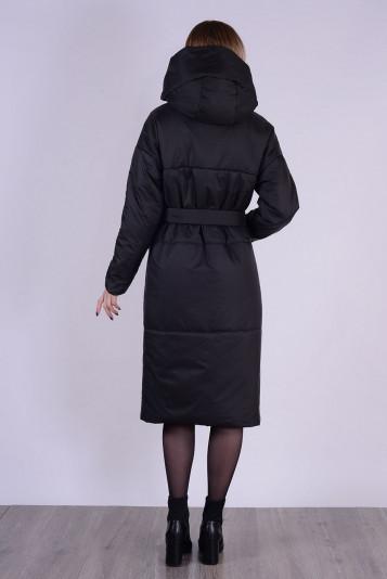 Пальто деми 99602 черное