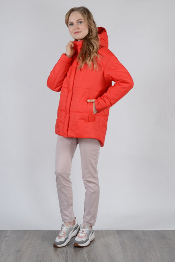 Куртка деми 99603 красная