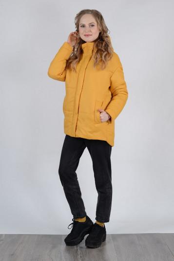 Куртка деми 99603 охра