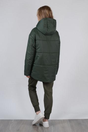 Куртка деми 99603 зеленая
