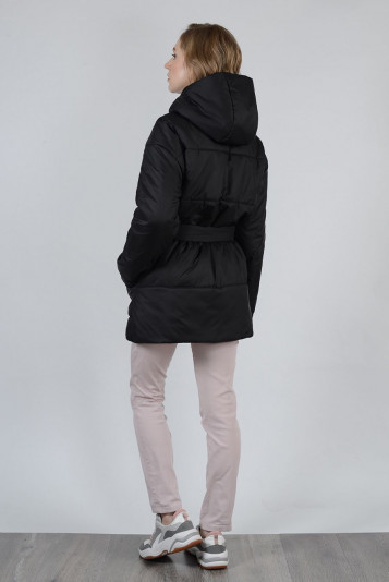 Куртка оверсайз 99604 черная
