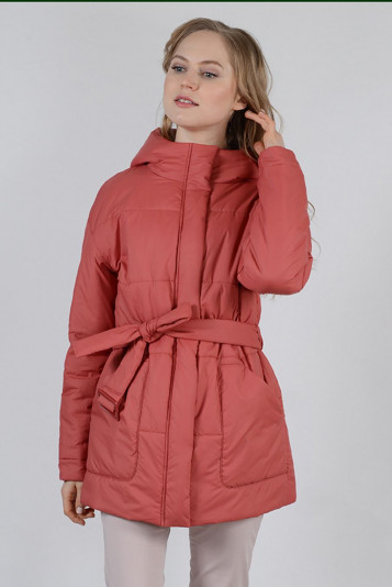 Куртка оверсайз 99604 коралл