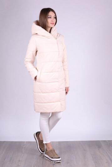 Пальто деми 93553 молоко