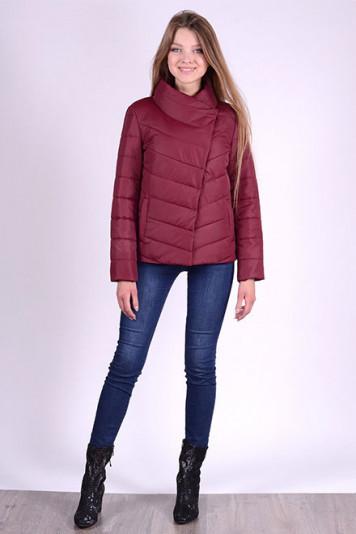 Куртка деми 83501 бордо