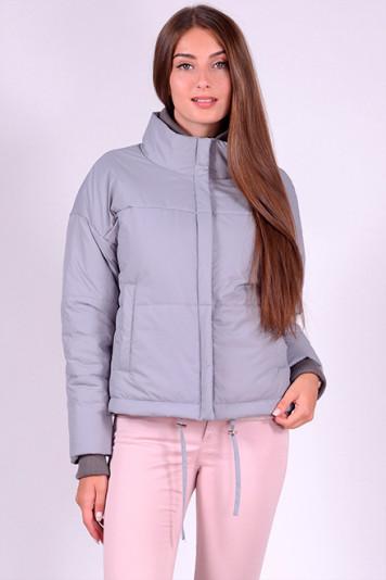 Куртка женская 83505 серая
