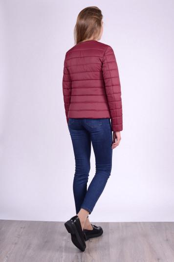 Куртка женская 63329 бордо