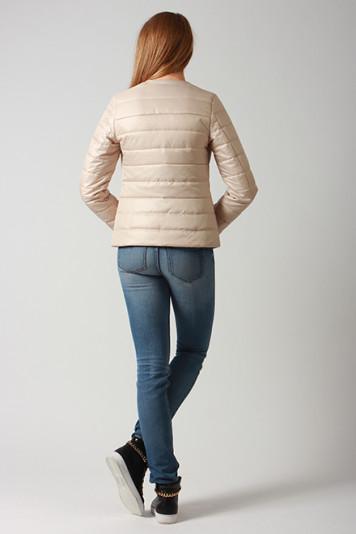 Куртка женская 63329 бежевая
